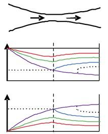 Jet shock wave structure