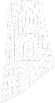Finite element model of blade