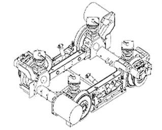 Motorized bogie Citadis 402