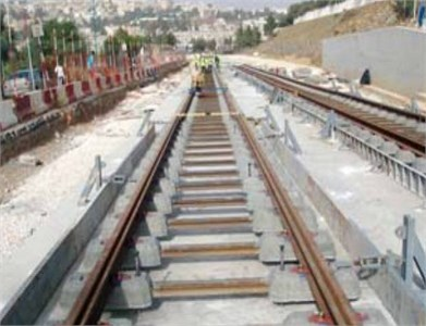 Rail of Constantine tramway