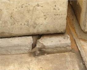 Damages of ballastless tracks