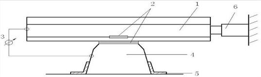 Test method for ballast and fastener longitudinal resistance