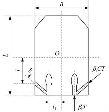 The structure sketch of unmanned amphibious platform