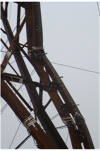 Failure modes of prototype test towers