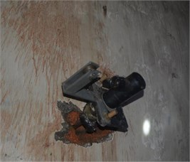 The procedure and blasting effect on underground mine