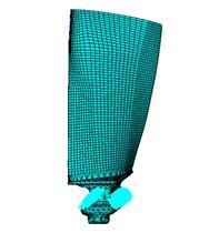 Finite element model of bladed