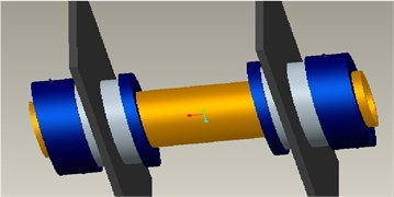 Three-dimensional model of pipe penetration piece