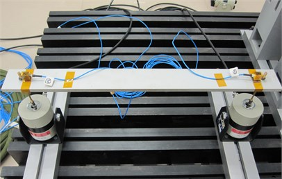 Two-dimensional actuator test system