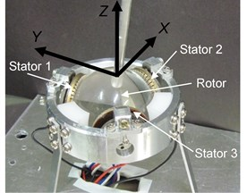 3DOF spherical ultrasonic motor