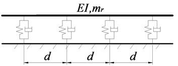 Schematic drawings of vertical whole structure and substructure of embedded sleeper tracks