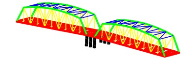 The bridge structure
