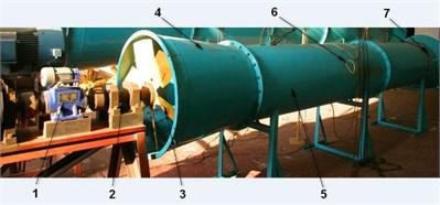 Wind tunnel test bench