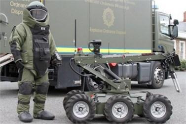 Bomb disposal vehicles [6, 7]