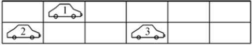 Schematic diagram for the random traffic flow based on CA