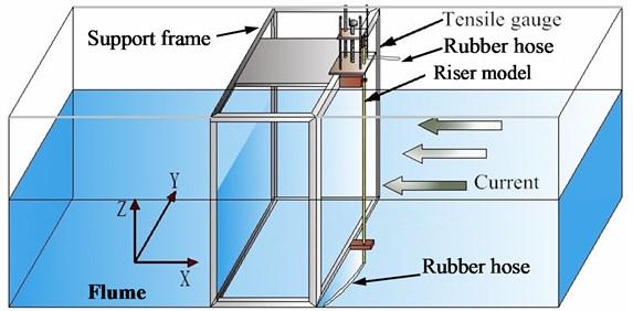 Arrangement of the experiment