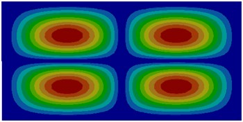 Modes of thin plates without considering coupling effect