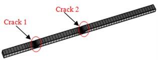 Finite element model of three kinds of concrete steel bridges
