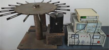 Experimental measurement devices of vibration characteristic