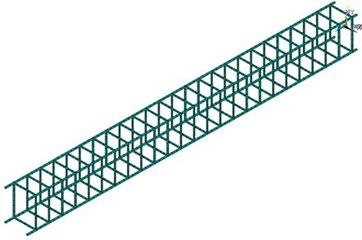Finite element models for 6 kinds of pre-stressed concrete beams