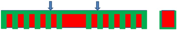 Schematic diagrams for 6 kinds of pre-stressed concrete beams