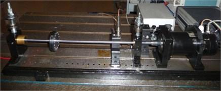Single-disc principle rotor test bed