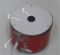 Electrode segments of piezorobot and topology of contact points
