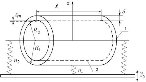 Scheme of mechanical system
