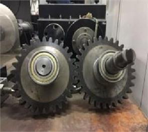 The variation amplitude  of gear backlash is 0.2