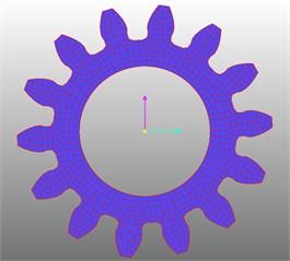 planetary gear finite element model