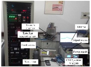 Micro film resonant sensor and its measuring system