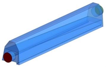 Optimized model 2 of air knife