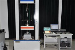 System for testing the sliding friction in the squeezing process