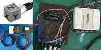 The sensors and the data acquisition
