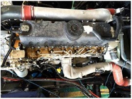 The arrangement of sensors in engine