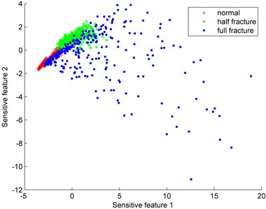 Distributions of sensitive features