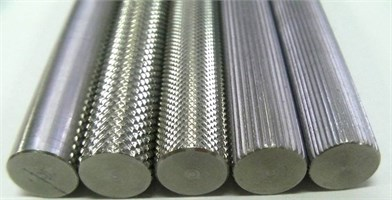 Normal and knurl shafts type. (a), (b), (c), (d), and (e) from the left