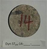 Rock samples after SHPB impact test