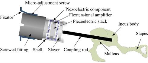 Configuration of the flextensional piezoelectric actuator