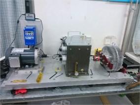 Bearing fault simulation test bench