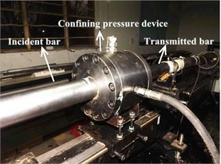 Confining pressure device