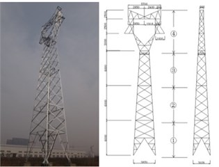 The picture of transmission tower