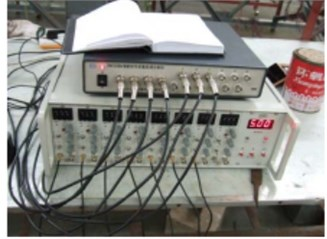 Testing equipment of experimental modes