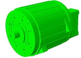 3D structure model of motor