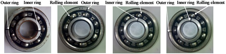 Compound faults of rolling bearing