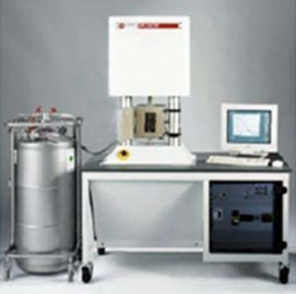 Dynamic property tester and rubber specimen anchorage