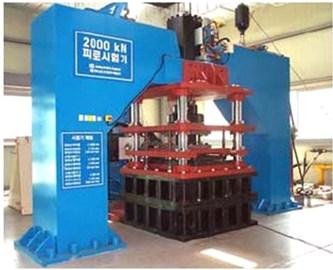 2.000 kN compression-shear tester