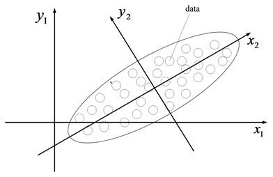 The schematic diagram of PCA