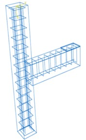Reinforcement detail of beam-column joint by ABAQUS software