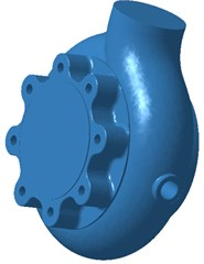 Acoustic boundary element model of centrifugal pumps