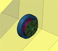 Semi-spherical field point meshes of permanent magnet synchronous motors